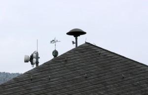 Sirene auf dem Dach des Attendorner Rathauses