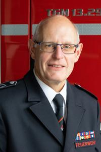 StBI Peter Heuel : Leiter der Feuerwehr (stv.)
