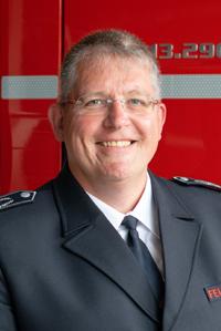 BOI Frank Schmidt : Leiter der Feuerwehr (stv.)